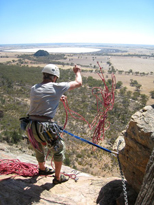 Creon/Tales of Brave Ulysses, Left Watchtower Face, Arapiles, Australia
