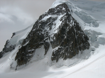 Contamine coulor, North Face Triangle of Mont Blanc du Tacul