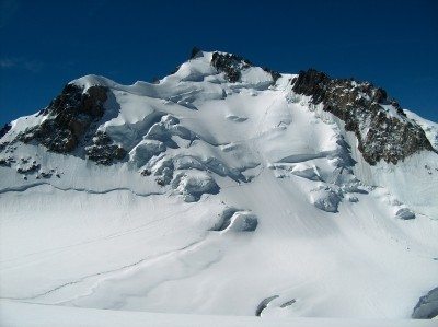 North face of Mont Maudit, Chamonix, France